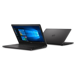 Dell Latitude 3570 Laptop Notebook (Intel Core i3-6100U Processor 2.3GHz, 4GB RAM, 500GB HDD, Windows 8.1) (Black) - SNS3570003