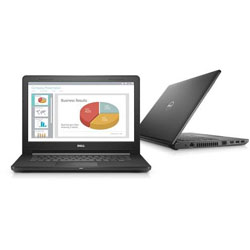 Dell Vostro 3468 Laptop Notebook (Intel Core i5-7200U Dual Core 2.5GHz, 4GB RAM, 1TB HDD, Windows 10) - SNS3468002