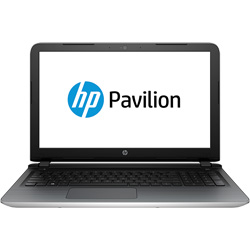 HP Pavilion 15-ab092TX Laptop Notebook (Intel Core i5-5200U 2.2GHz, 8GB RAM, 1TB HDD, Dos) (Natural Silver) - M7R55PA