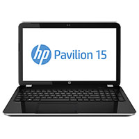 HP Pavilion 15-ak007TX Gaming Laptop Notebook (Intel Core i7-6700HQ 2.6GHz, 4GB RAM, 1TB HDD, Dos) (Black) - P7G56PA