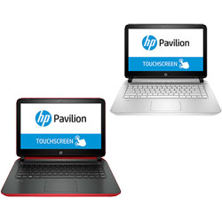 HP Pavilion TouchSmart 14 Laptop Notebook (Intel Core i5-5200U 2.2GHz, 4GB RAM, 1TB HDD + 8GB NAND, Windows 8.1)