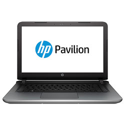 HP Pavilion 14-ab162TX Laptop Notebook (Intel Core i5-6200U 2.3GHz, 4GB RAM, 1TB HDD, Dos) (Blizzard White) - T5R14PA