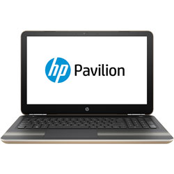 HP Pavilion 15-au132TX Laptop Notebook (Intel Core i7-7500U Processor 2.7GHz, 8GB RAM, 1TB HDD, Dos) (Modern Gold) - Y8J04PA