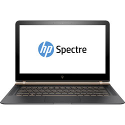 HP Spectre 13-v106TU Laptop Notebook (Intel Core i7-7500U Processor 2.7GHz, 8GB RAM, 512GB SSD, Windows 10 Pro) (Dark Silver/Copper) - Y4F66PA