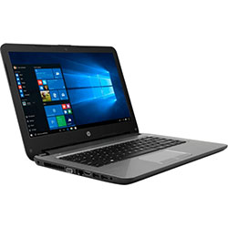HP Probook 348-485TU Laptop Notebook (Intel Core i5-7200U Processor 2.5GHz, 8GB RAM, 1TB HDD, Dos) (ฺBlack) - 4YZ85PA