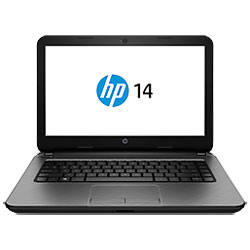 HP 14-r002TX Laptop Notebook (Intel Core i5-4210U 1.7GHz, 4GB RAM, 500GB HDD, Dos) (Stone Silver) - G8E02PA