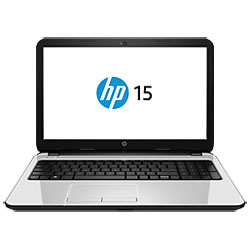HP 15-r009TX Laptop Notebook (Intel Core i5-4210U 1.7GHz, 4GB RAM, 500GB HDD, DOS) (Pearl White) - G8E09PA