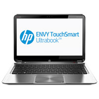 HP ENVY4-1241TU Ultrabook Touch Screen (Intel Core i5-3337U 1.8GHz, 8GB Ram, 500GB HDD + 32GB MSSD, Windows 8) - Aluminum