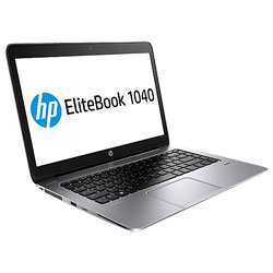 HP EliteBook Folio 1040 G1 1040G1-317TU Laptop Notebook (Intel Core i5-4200U 1.6 GHz, 4GB RAM, 256 SSD, Windows 8.1) (Platinum Silver) - G3K17PA