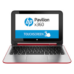 HP Pavilion 11 x360 11-n026TU Touch Convertible Laptop Notebook (Intel Pentium N3530, 4GB RAM, 500GB HDD, Windows 8.1) (Brilliant Red) - J6M98PA