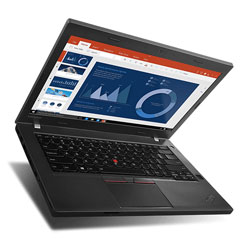 Lenovo ThinkPad T460P Laptop Notebook (Intel Core i5-6440HQ Processor 2.6GHz, 4GB RAM,1TB HDD, Windows 7) (Black) - 20FX001ETH