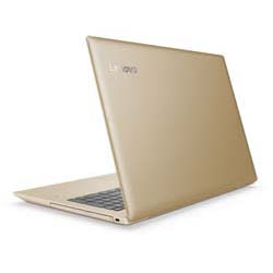 Lenovo IdeaPad 520-15IKB Laptop Notebook (Intel Core I7-7500U Processor 2.7GHz, 4GB RAM, 1TB HDD, Dos) (Golden) - 80YL00NETA