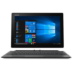 Lenovo Ideapad MIIX 520-12IKB Touch Laptop Notebook (Intel Core i5-8250U 1.60GHz, 8GB RAM, 256G SSD, Windows 10 Pro) (Iron Grey) - 81CG01W0TA