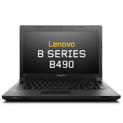 Lenovo IdeaPad B490 Laptop Notebook (Intel Core i3-3110M Processor 2.40GHz, 4GB RAM, 1TB HDD, Dos) - Black (B490-59423206)