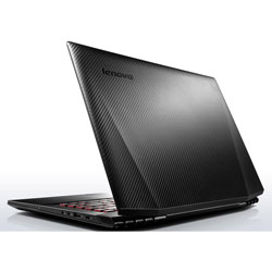 Lenovo IdeaPad Y40-70 Y4070 Laptop Notebook (Intel Core i7-4510U 2.0GHz, 4GB RAM, 1TB HDD, Dos) - Black (Y4070-59438318)