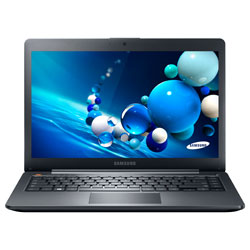 Samsung ATIV BOOK 5 NP540U4E-K01TH Laptop Notebook (Intel® Core™ i5-3337U 1.80GHz, 4GB RAM, 500GB HDD + E.C. 24GB, Windows 8) - Mineral Ash Black