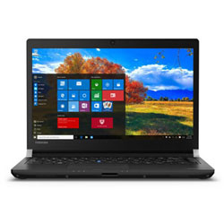 Toshiba Portege R30-C111 Laptop Notebook (Intel Core i7-6600U Processor 2.6GHz, 8GB RAM, 500GB HDD, Windows 7) (Black) - PT365L-00U00P