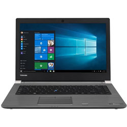 Toshiba Tecra A40-C109 Laptop Notebook (Intel Core i5-6200U Processor 2.3GHz, 4GB RAM, 1TB HDD, Windows 7) (Black) - PS463L-01000Q