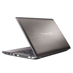 Toshiba Satellite P840-1002X Laptop Notebook (Intel ULV Core i5-3317U 1.7GHz, 4GB RAM, 750GB HDD, Windows 7) (Silver)