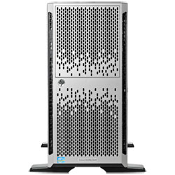 "HP ProLiant ML350p Gen8 Tower Server (Xeon E5-2620v2 Six-Core 2.1GHz, 1x8GB RAM, 8x2.5"" SFF Hot Plug SAS/SATA, DVD-RW, 460W PS) - 736958-371"