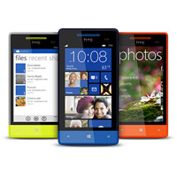 HTC Windows Phone 8S Smartphone