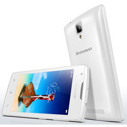 Lenovo A1000 2-SIM 3G Android Smartphone (White) - PA1R0035TH