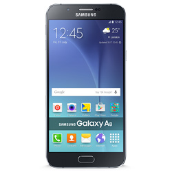 Samsung Galaxy A8 2-Sim Duos 4G LTE Android Smartphone (สีดำ) - SM-A800FZKETHL