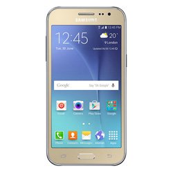 Samsung Galaxy J2 2-Sim Duos 4G LTE Android Smartphone (Gold) - SM-J200GZDDTHL