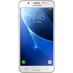 Samsung Galaxy J5 Version2 (2016) 2-Sim Duos 4G LTE Android Smartphone (White) (SM-J510FZWUTHL)
