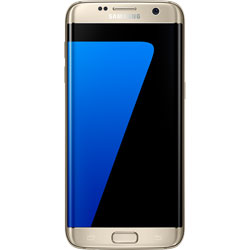 Samsung Galaxy S7 Edge 4G LTE Android Smartphone (Gold) (SM-G935FZDUTHL)