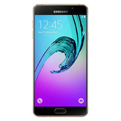 Samsung Galaxy A7 (2016) 4G LTE Android Smartphone (Gold) - SM-A710FZDFTHL