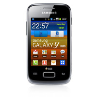 Samsung Galaxy Y Duos Dual SIM Android Phone (GT-S6102) (AIS) (Strong Black)