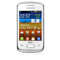 Samsung Galaxy Y Duos Dual SIM Android Phone (GT-S6102) (AIS) (Pure White)