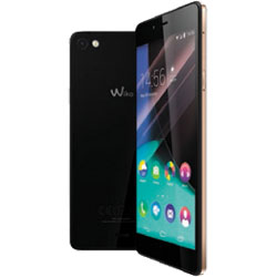 Wiko HIGHWAY PURE 4G LTE Android Smartphone (Black/Gold) - 69432794-06408