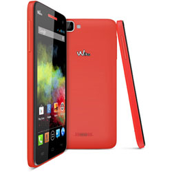 Wiko RAINBOW Android Smartphone (สีแดง) - 69432794-03940