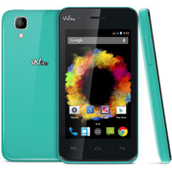 Wiko SUNSET Android Smartphone (สีฟ้า) - 69432794-04794
