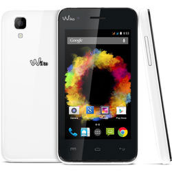 Wiko SUNSET Android Smartphone (White) - 69432794-04763