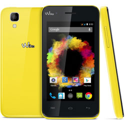 Wiko SUNSET Android Smartphone (สีเหลือง) - 69432794-04800