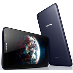 "Lenovo IdeaTab A5500 (A8-50) 8"" Android Tablet (MTK 8382 Quad Core 1.3GHz, 1GB RAM, 16GB EMCP, Android 4.2, 3G+WiFi) (สีน้ำเงิน) - 59407840"