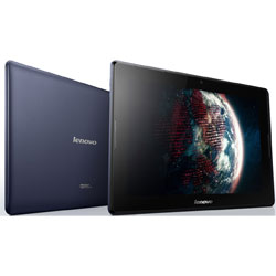 "Lenovo IdeaTab A7600 (A10-70) 10"" Android Tablet (MTK 8382 Quad Core 1.3GHz, 1GB RAM, 16GB eMMC, Android 4.2, 3G+WiFi) (สีน้ำเงิน) - 59409694"