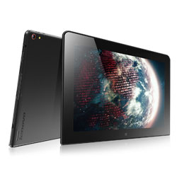 Lenovo Thinkpad 10 Business-Ready Tablet (Intel Atom Z3795 1.6GHz, 2GB RAM, 64GB eMMC, Windows 8.1) - Black (20C1000STH)