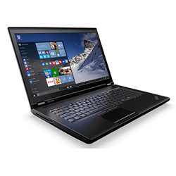 Lenovo ThinkPad P70 Mobile Workstation (Intel Xeon E3-1505M v5 Processor 2.8GHz,16GB RAM, 1TB HDD + 1TB SSD, Windows 10) - 20ESS1J200