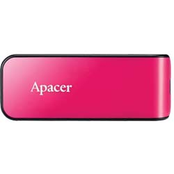 Apacer AH334 32GB Retractable USB 2.0 Flash Drive (Pink) - AP32GAH334P-1