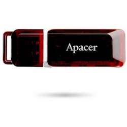 Apacer Handy Steno AH321 32GB Pen Cap USB 2.0 Flash Drive (Claret Red) - AP32GAH321R-1