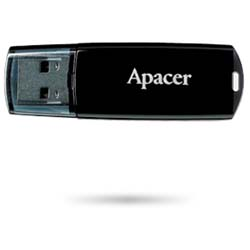 Apacer Handy Steno AH322 32GB Pen Cap USB 2.0 Flash Drive (Black) - AP32GAH322B-1