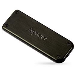 Apacer Handy Steno AH325 32GB Retractable USB 2.0 Flash Drive (Black) - AP32GAH325B-1