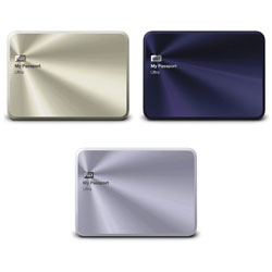 "Western Digital WD My Passport Ultra Metal Edition Premium Storage 2.5"" USB 3.0 1TB/2TB/3TB Portable External Hard Drive"