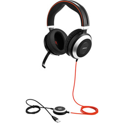 JABRA Evolve 80 MS Stereo Headset - 7899-823-109