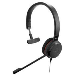 JABRA Evolve 30 II MS Mono Headsets - 5393-823-309