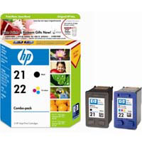 HP No. 21/22 Ink Cartridge (Combo Pack) - CC630AA